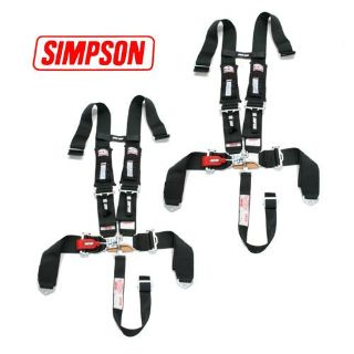 Buy 2 Sand Rail Car Simpson 5pt H Harness Seat Belt D3 Style Harness 3x3 w/Pads Blk motorcycle in Buena Park, California, US, for US $299.99