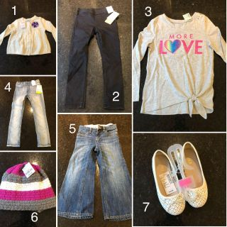 Brand new with tags girls items