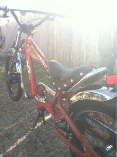 $80 Schwinn Chopper bicycle. (Shawnee)