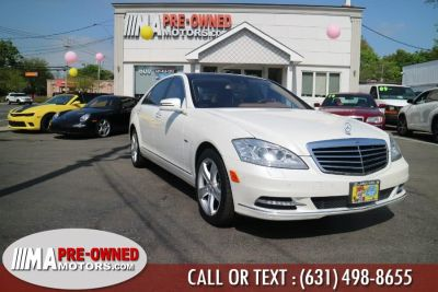 2012 Mercedes-Benz S-Class S550 4MATIC (Diamond White Metallic)