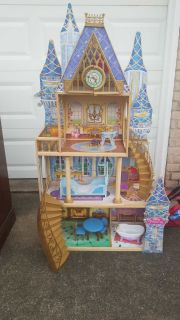 Princess Doll House with Furniture