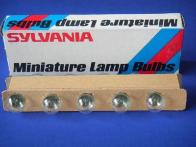 Sell Sylvania #81 Miniature Auto / Truck Lamp Bulbs 6V -Bx of 10 Made in USA! motorcycle in Sunbury, Pennsylvania, United States, for US $15.99