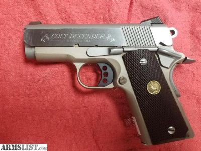 For Sale: Colt 1911 Defender 45acp