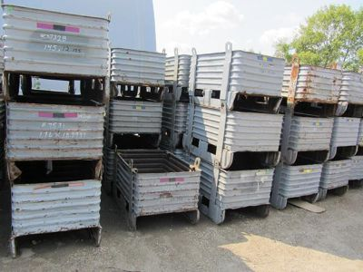Used and New Baskets Bins Totes Containers