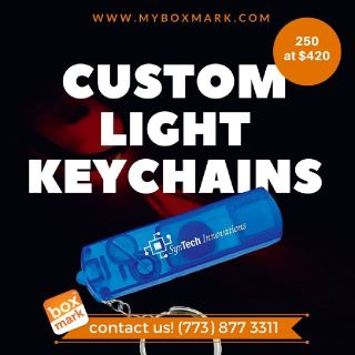 Custom whistle key light  | Boxmark