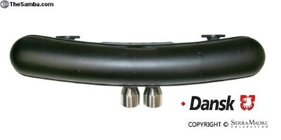 Dansk Sport Muffler, 76mm, 911 2.0, 2.2, 2.4, 2.7