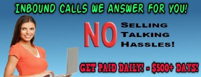 Customer Service Agents (work from home)