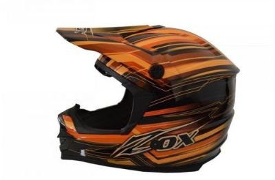 Sell Zox Rush Artisan Junior Youth MX/Offroad Helmet Orange/Black motorcycle in Holland, Michigan, United States, for US $57.47