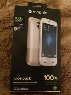 Galaxy S6 Mophie juice pack