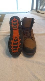 Worx Steel toe boots 11 medium