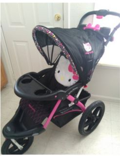 Hello Kitty Jogging Stroller