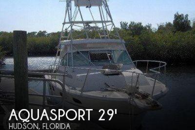 1988 Aquasport 290 Tournament Master