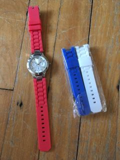Watch with spare bracelets - Never used