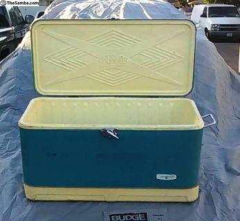 Vintage 60's Thermos Camper Cooler OG Box Included