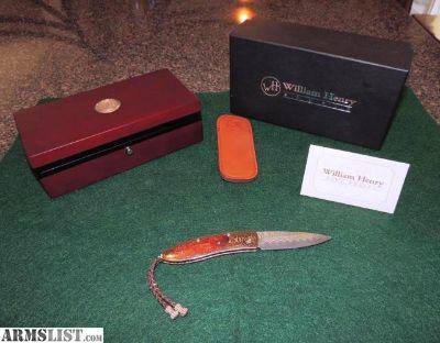 For Sale: Rare - William Henry Hawkridge custom folder (NIB)