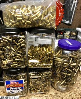 For Sale: Clean Pistol & Rifle Brass