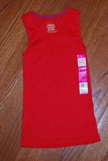 NWT Ribbed Red Tank Top
