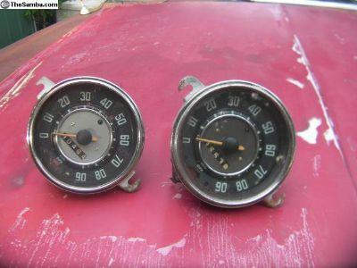 Type I OG speedo 1966 and 1960