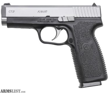 For Sale/Trade: Kahr CT9 for sale/trade.. used one range trip
