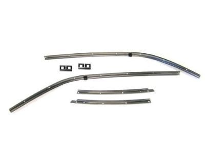 Buy 1967 Camaro or Firebird Roof Rail Weather Strip Channel Retainer 6 pc Kit motorcycle in Lewisville, Texas, United States, for US $194.94