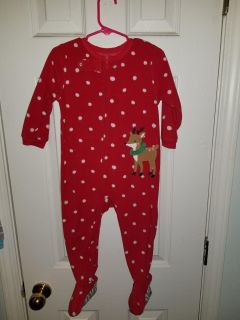 Christmas wear - 24 month all Carters and 3 sleepers in EUC / long sleeve onesie in NWOT condition / long sleeve NWT