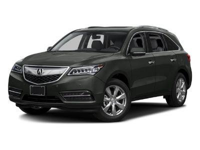 2016 Acura MDX w/Advance (Silver)