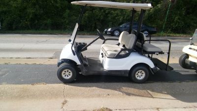 2007 Yamaha G-MAX Limited Edition 4-Stroke Gas Golf Golf Carts Forest View, IL