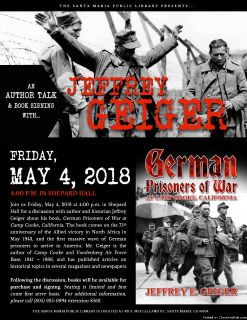 GERMAN PRISONERS OF WAR AT CAMP COOKE, CALIFORNIA -