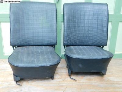 1967 Front Seats Original Upholstery