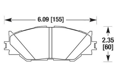 Find HAWK HB566Z.688 - 06-07 Lexus IS Front Brake Pads Ceramic motorcycle in Chino, California, US, for US $126.12