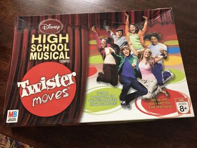 HS Musical Twister game