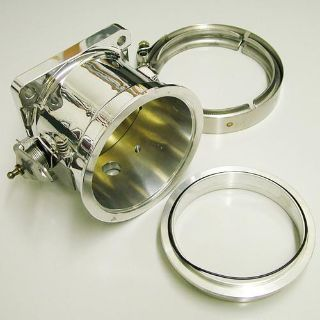 Purchase Accufab F90VK 90MM Race Throttle Body V-Band Clamp Kit Mustang 5.0 86-93 motorcycle in Suitland, Maryland, US, for US $421.83