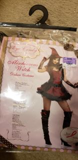 Witch costume size Medium. Dress and hat only.