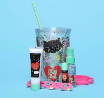 New Simple pleasures chill cat gift set