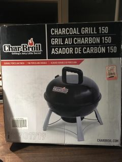 Char-Broil Charcoal Grill 150-NEW!