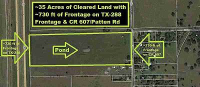 0 County Road 607 Angleton, build your country style dream