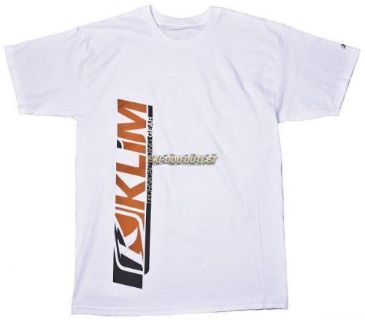 Buy Klim Polium Cottom Tee - White motorcycle in Sauk Centre, Minnesota, United States, for US $19.99