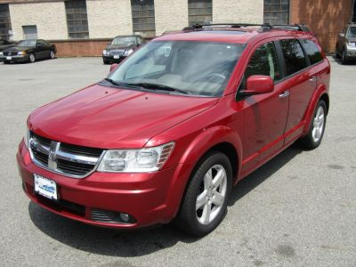 2009 Dodge Journey R/T (Inferno Red Crystal Pearl)