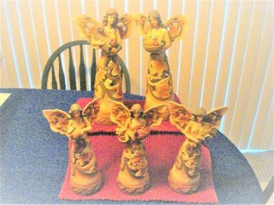 5 piece angel table top display - new with tags