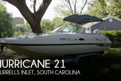 2003 Hurricane 217 Sun Deck