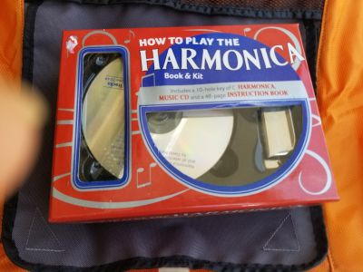 Learn to play the harmonica set