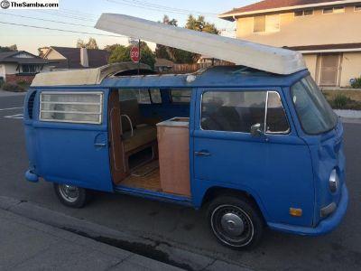 1971 VW Westfalia Camper Bus