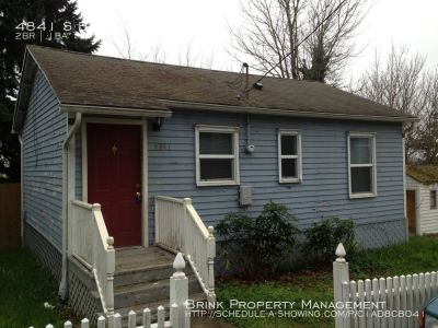 Great 2BR 1BA South Seattle Home