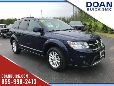 2017 Dodge Journey SXT (Contusion Blue Pearlcoat)