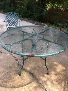 Free Project pieces - Outdoor table and chairs