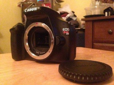 Canon T3 ($350 or best offer)