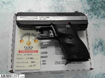 For Sale: HI-POINT CF380