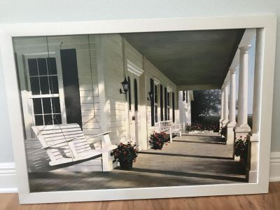 Large framed picture from tj max 36 by 30