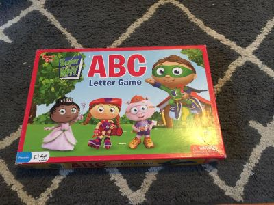 Super Why Letter Game