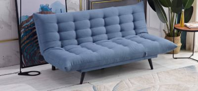 """NEW! CONTEMPORARY SLEEK STYLING """"COMFY SOFA BED SLEEPER / LOUNGER:)"""